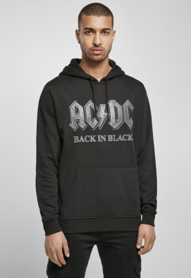 Hanorac ACDC Back In negru negru Merchcode