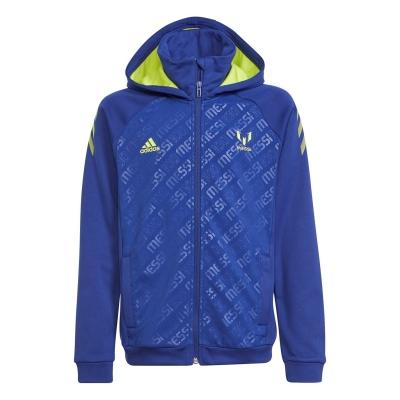 Hanorac adidas Messi Jn14 albastru galben