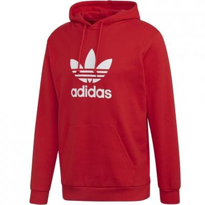 Hanorac Adidas Trefoil rosu FM3783