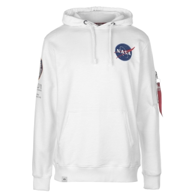 Hanorac Alpha Industries Apollo 11 alb