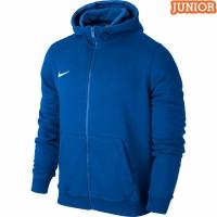 Hanorac cu gluga Nike Team Club albastru 658499 463 copii