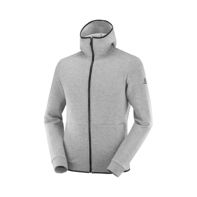 Hanorac Drumetie Barbati Salomon SIGHT HOODIE M Gri