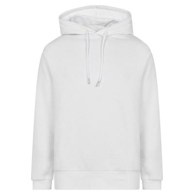 Hanorac Due Diligence 3D Logo pentru Barbati alb