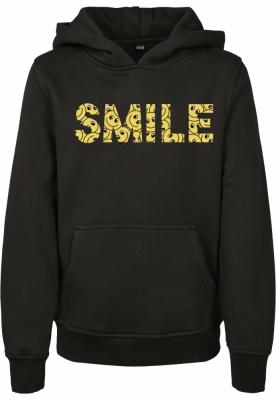Hanorac galben Smile Box pentru Copii negru Mister Tee