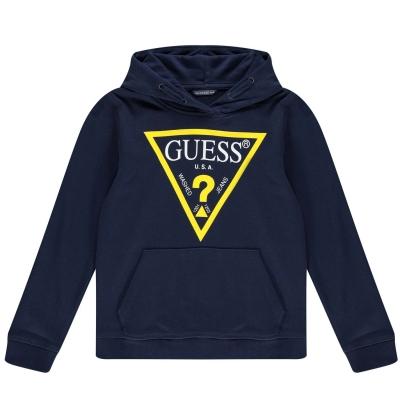 Hanorac Guess Triangle Logo OTH bleumarin dekb