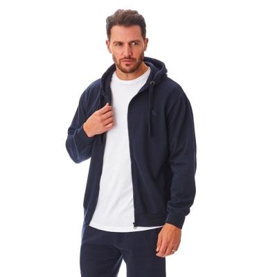 Hanorac Iron Mountain cu fermoar Workwear pentru Barbati bleumarin