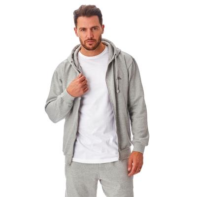 Hanorac Iron Mountain cu fermoar Workwear pentru Barbati deschis gri
