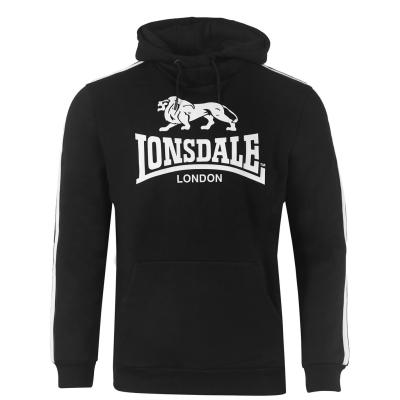Hanorac Lonsdale 2S OTH pentru Barbati negru alb