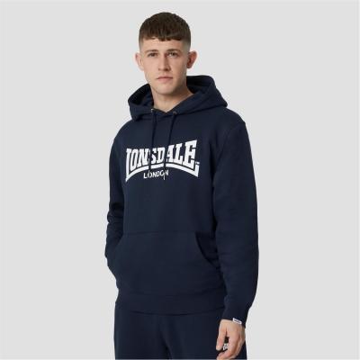 Hanorac Lonsdale Essentials Logo bleumarin