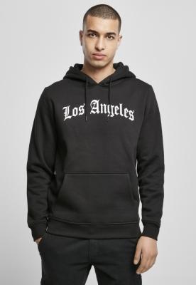 Hanorac Los Angeles Wording negru Mister Tee