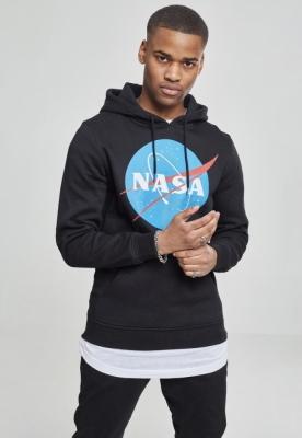 Hanorac NASA negru Mister Tee