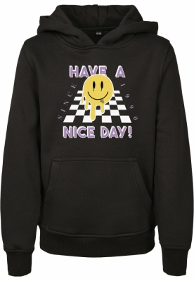 Hanorac Nice Day pentru Copii negru Mister Tee