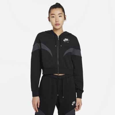 Hanorac Nike Full-cu fermoar negru