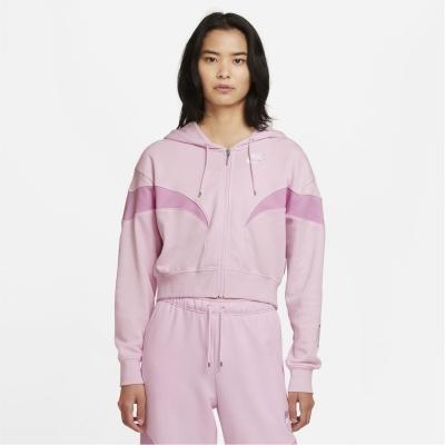 Hanorac Nike Full-cu fermoar roz