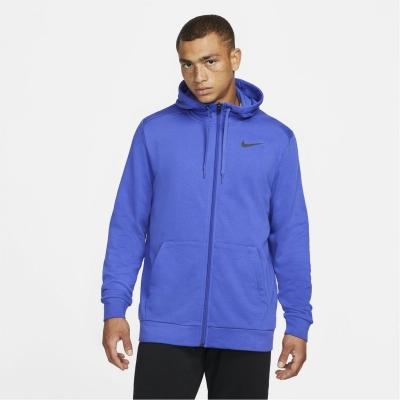 Hanorac Nike Dri-FIT Full-cu fermoar antrenament pentru Barbati albastru