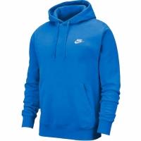 Hanorac Nike NSW Club albastru BV2654 435 pentru barbati