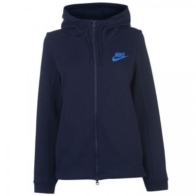 Hanorac Nike Optic cu fermoar pentru Femei bleumarin