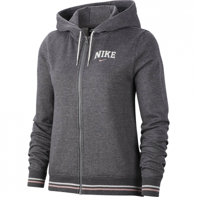 Hanorac Nike W FZ FLC Vrsty gri BV3984 071