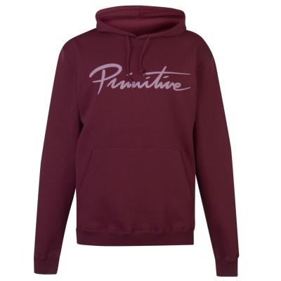 Hanorac Primitive Logo rosu burgundy