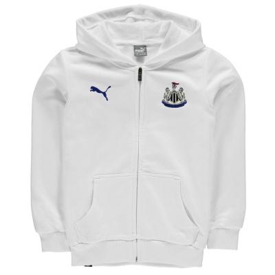 Hanorac Puma Newcastle United cu fermoar pentru baietei alb