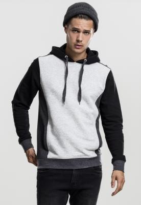 Hanorac simplu model sport trei culori gri-gri Urban Classics carbune negru