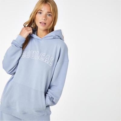 Hanorac SoulCal Col pentru femei albastru