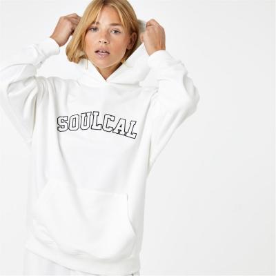 Hanorac SoulCal Col pentru femei bej