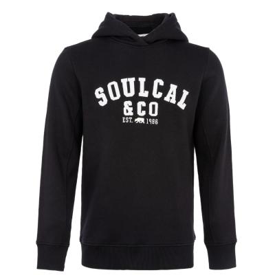 Hanorac SoulCal Logo OTH pentru Barbati negru