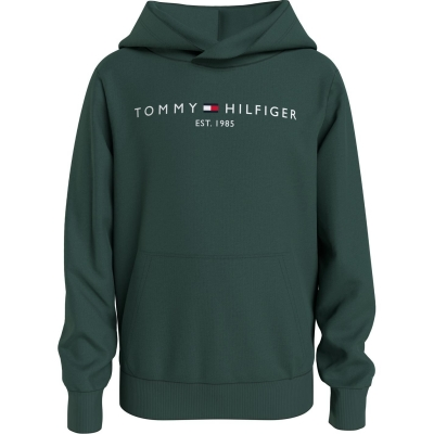 Hanorac Tommy Hilfiger Tommy Logo verde l6k