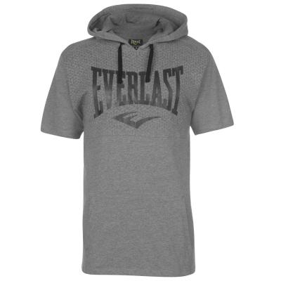 Tricou Everlast cu gluga pentru Barbati gri marl
