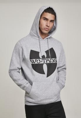 Hanorac Wu-Wear Logo deschis-gri