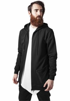 Hanorace barbati cu fermoar tech negru-negru Urban Classics