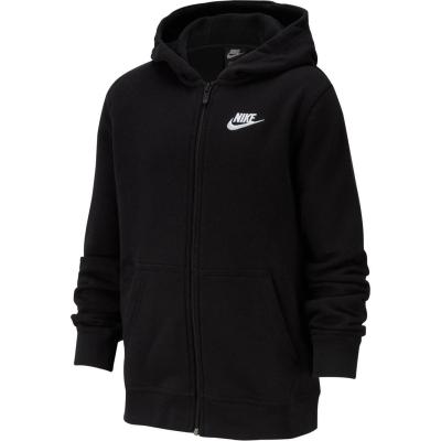 Hanorace cu Fermoar Nike Juniors negru