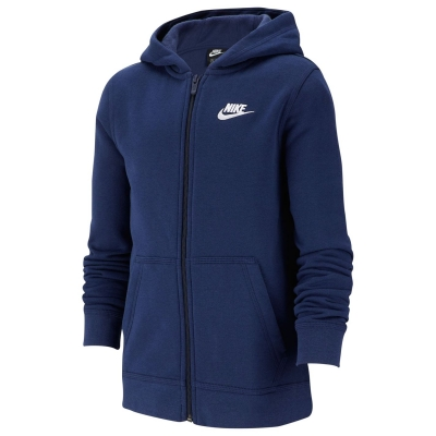 Hanorace cu Fermoar Nike Juniors bleumarin
