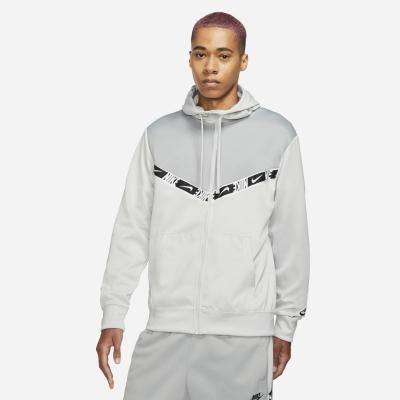 Hanorace cu Fermoar Nike gri