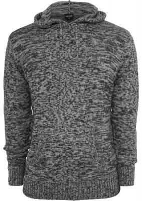 Hanorace urban knitted negru-gri Urban Classics