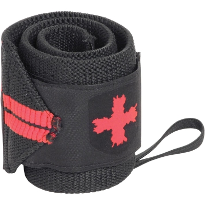 Harbinger rosu Line Wrist Wraps negru