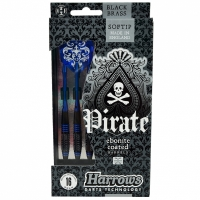 Sageti darts Harrows Softip PIRATE albastru 16g copii