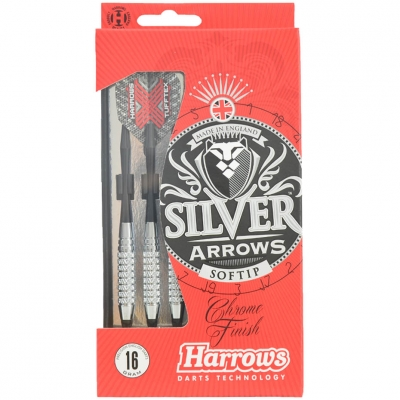 Sageti darts Harrows Softip SILVER ARROW 16g