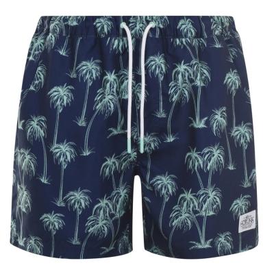 Pantaloni scurti Hot Tuna Printed pentru Barbati bleumarin palms