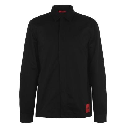 Hugo supradimensionat-Fit Shirt negru