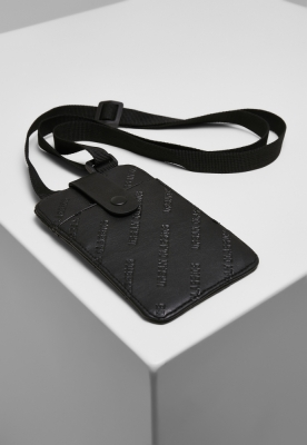 Husa telefon Portofel Handsfree cu negru Urban Classics