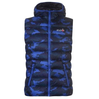 IFlow Camouflage Series Vest pentru Barbati albastru camuflaj