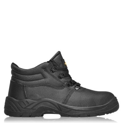 Iron Mountain Safety Work Shoes pentru Barbati negru