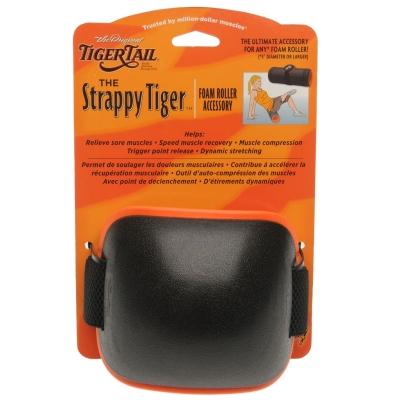 Izopren rola Tiger Tail Tail Strappy Tiger Accessory negru portocaliu