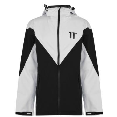 Jacheta 11 Degrees H20 negru alb