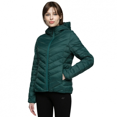 Jacheta 4F Dark verde H4L21 KUDP004 40S pentru femei