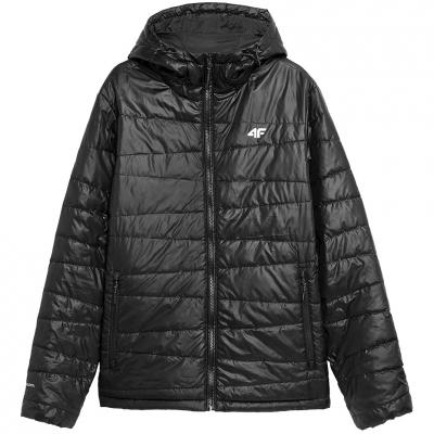 Jacheta 4F negru intens H4Z21 KUMP005 20S pentru Barbati