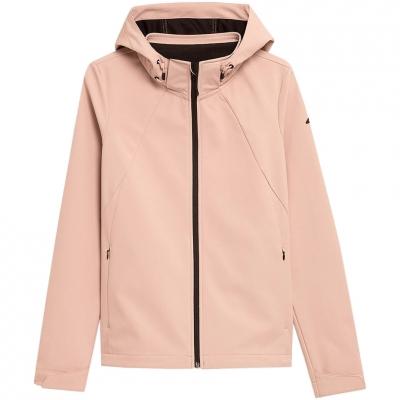 Jacheta 4F Softshell Light roz H4Z21 SFD002 56S pentru femei