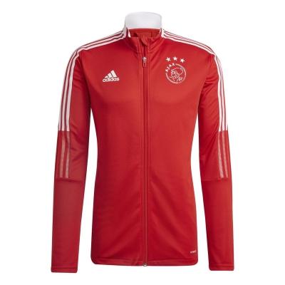 Jacheta adidas Ajax antrenament 2021 2022 pentru Barbati rosu